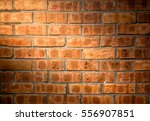 close up bright vintage brick... | Shutterstock . vector #556907851