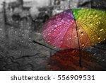 Blurry Of Umbrella  View...