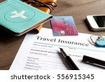 concept booking travel... | Shutterstock . vector #556915345