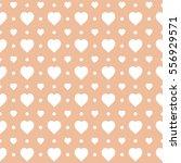 seamless heart pattern... | Shutterstock .eps vector #556929571
