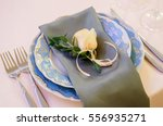 wedding decor  floral  wedding...   Shutterstock . vector #556935271