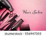 Text Hair Salon And Barber...