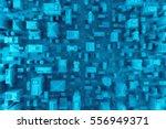 3d rendering of city s top view.... | Shutterstock . vector #556949371