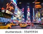 new york city   sept 5  times... | Shutterstock . vector #55695934