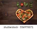 Heart Shaped Pizza For...
