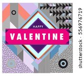 vector greeting card happy...   Shutterstock .eps vector #556976719