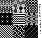 Seamless Abstract Pattern Set...