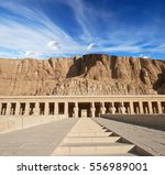 hatshepsut temple | Shutterstock . vector #556989001