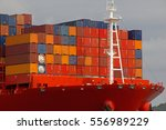 container ship | Shutterstock . vector #556989229