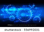mechanic blue vector background ... | Shutterstock .eps vector #556992031