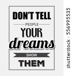 "retro motivational quote. "" don'... 