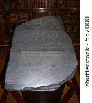 Rosetta Stone   A Basalt Table...