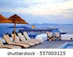 mykonos  greece  may 24  2011.  ... | Shutterstock . vector #557003125