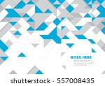 vector of modern geometric... | Shutterstock .eps vector #557008435