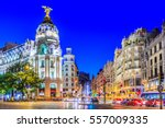 Madrid  Spain. Gran Via  Main...