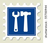tools sign stamp | Shutterstock .eps vector #55700944