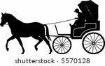 luxury carriage   Shutterstock .eps vector #5570128