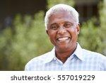 portrait of senior african... | Shutterstock . vector #557019229