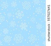 seamless winter christmas... | Shutterstock .eps vector #557027641