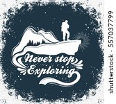 hand drawn inspiration and...   Shutterstock .eps vector #557037799