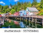 Ketchikan  Alaska. Creek Stree...