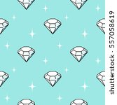 vector seamless pattern with... | Shutterstock .eps vector #557058619