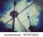 Old Vintage Ship Pirates...