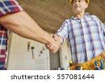 cooperation has been worked...   Shutterstock . vector #557081644