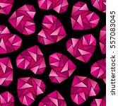 triangle heart shape symbols...   Shutterstock . vector #557083045