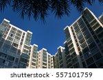 modern apartment condominium... | Shutterstock . vector #557101759