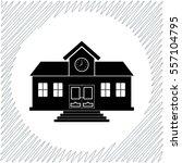 school vector icon   black ...   Shutterstock .eps vector #557104795