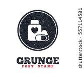 grunge post stamp. circle...   Shutterstock .eps vector #557114581