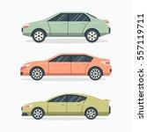 popular united state car. flat... | Shutterstock .eps vector #557119711