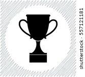 cup vector icon   black ... | Shutterstock .eps vector #557121181