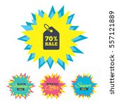 sale stickers and banners. 70 ...   Shutterstock .eps vector #557121889