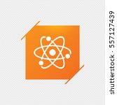 atom sign icon. atom part...   Shutterstock .eps vector #557127439