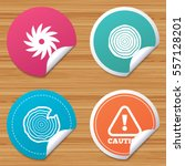 round stickers or website... | Shutterstock .eps vector #557128201