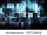 security network data of the... | Shutterstock . vector #55713643