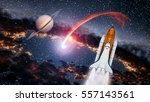 Space Shuttle Spaceship Launch...