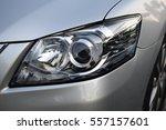 Car Headlight With Shallow...