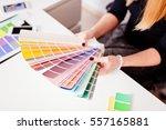 woman designer or architect