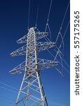 power transmission line in...   Shutterstock . vector #557175265