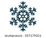 snowflake vector icon... | Shutterstock .eps vector #557179321