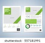 business brochure flyer design... | Shutterstock .eps vector #557181991