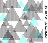 abstract vector seamless ... | Shutterstock .eps vector #557183581