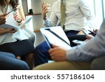 business conference. close up... | Shutterstock . vector #557186104