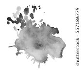 abstract watercolor grayscale... | Shutterstock .eps vector #557186779