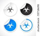 vector stickers   Shutterstock .eps vector #55718698