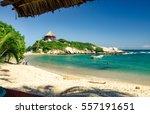 Caribbean Beach In Tayrona...