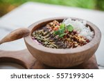 healthy organic superfood... | Shutterstock . vector #557199304